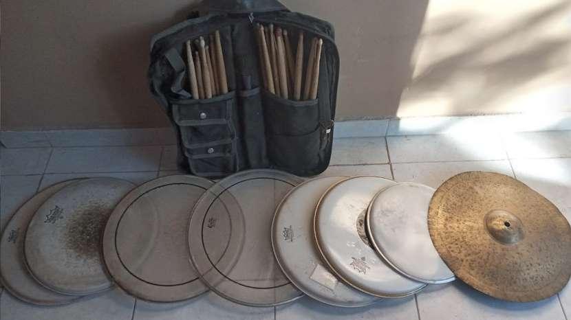 Set de parches de batería y accesorios - 0
