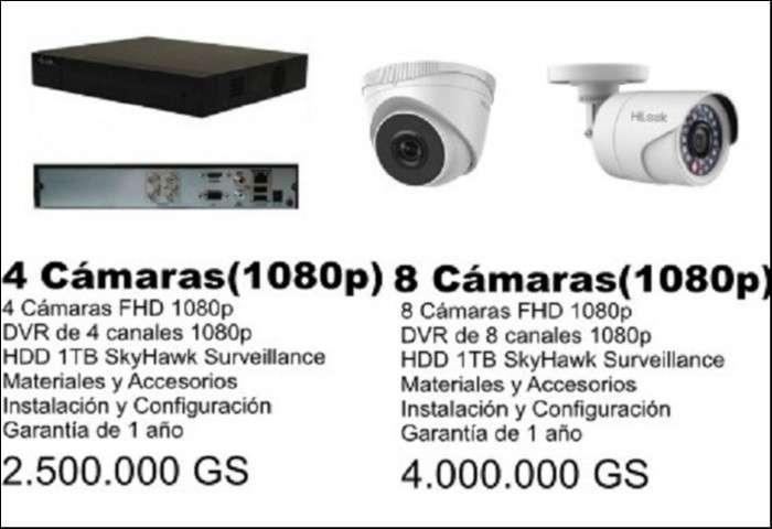 Kit de cámaras de seguridad - CCTV - 1