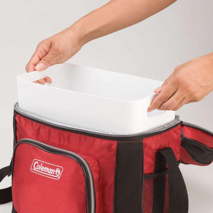 Coleman - Bolsa Refrigerante Rojo (30 Latas) - 0