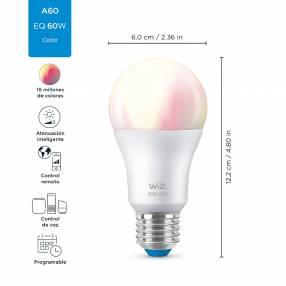 Lampara Led Smart Wiz 9W E27 RGB
