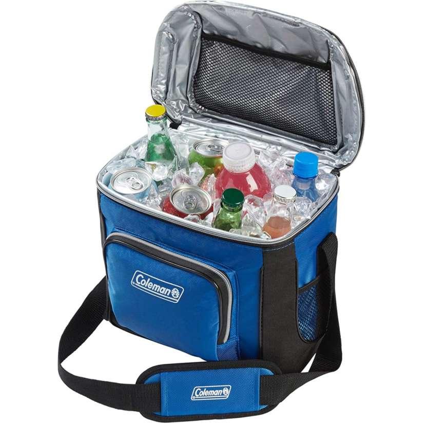 Coleman - Bolsa Refrigerante Azul (16 Latas) - 1