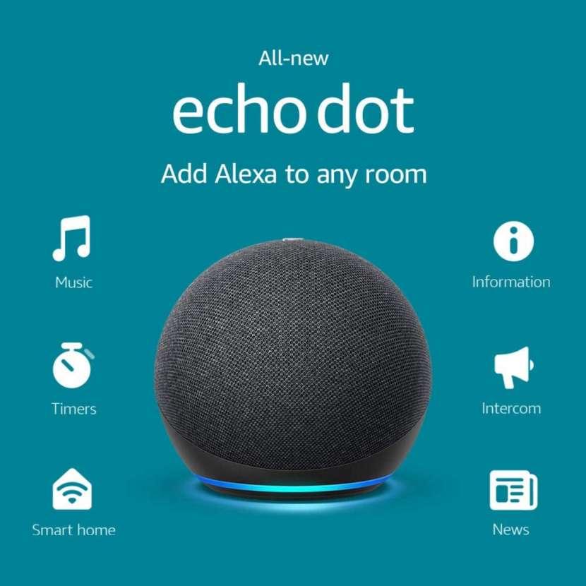 Echo Dot 4ta. Generación - Negro - 2
