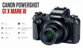 Cámara Canon PowerShot G1X Mark III