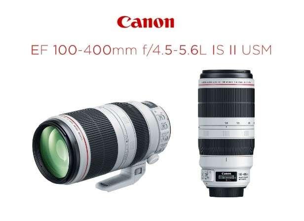 Lente Canon EF 100-400mm F/4.5-5.6L IS II USM - 0