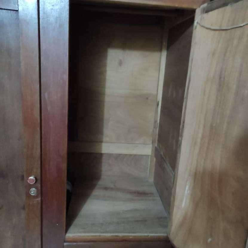 Ropero de madera 2 puertas - 2