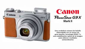 Cámara Canon PowerShot G9X Mark II