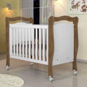 Cuna mini cama Alvin Jequitiba blanco