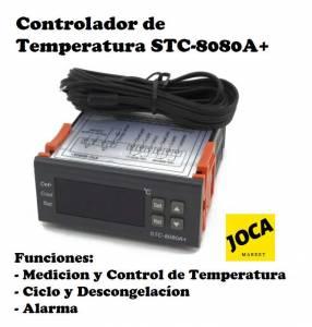 Controlador digital de temperatura refrigeración STC-8080A+