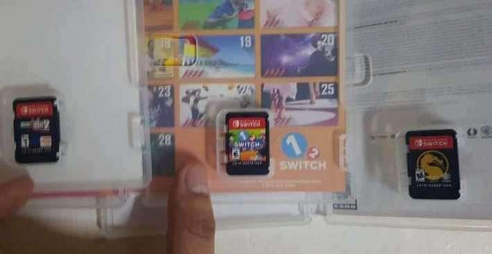 Combo Nintendo Switch - 2