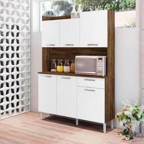 Kit cocina genova 6 puertas kits paraná savana|white