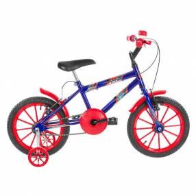 Bicicleta aro 16 kids ultra bikes azul|rojo