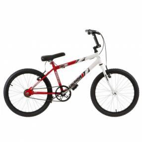 Bicicleta aro 20 bicolor ultra bikes rojo|blanco