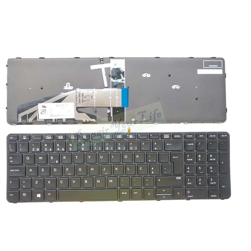 Teclado HP 450 G3 US con borde - 0