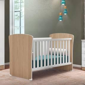Cuna mini-cama 2484 qmovi carvallo|blanco