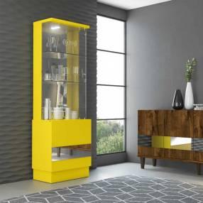 Cristalera new vina dj amarillo