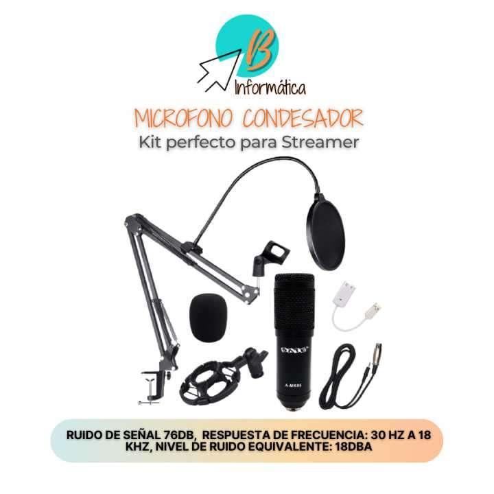 Micrófono condensador Kit A-MK05 - 0