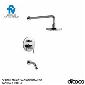 Grifería Monocomando FV Libby Z106/39 ducha y bañera