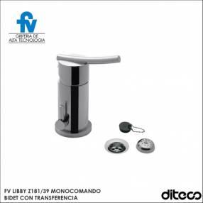 Grifería Monocomando FV Libby Z189/39 Bideta