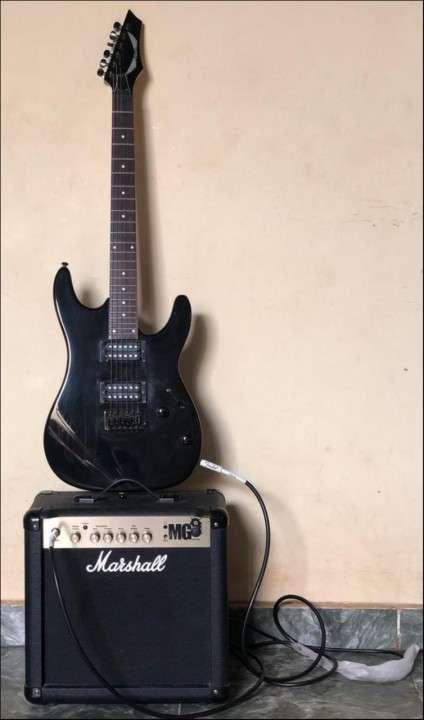 Guitarra Eléctrica + Amplificador + Afinador - 0