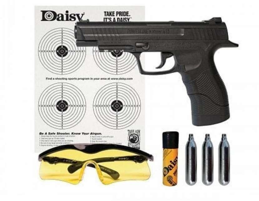 Pistola co2 4.5mm + accesorios - 0