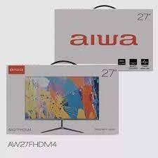 Monitor plano flat Aiwa 27 pulgadas FHDM4