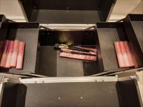 Caja de maquillaje Miss Rose color rosa