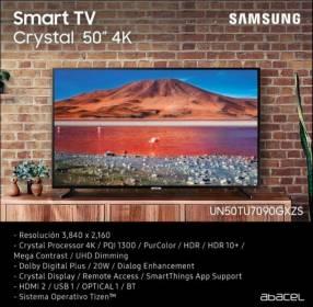 "Smart TV Samsung 50"" Crystal UHD 4K 2020"