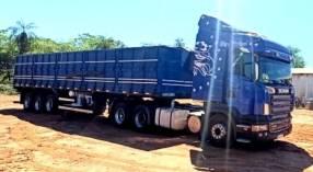 Scania r420 trucado azul 2008 3y3