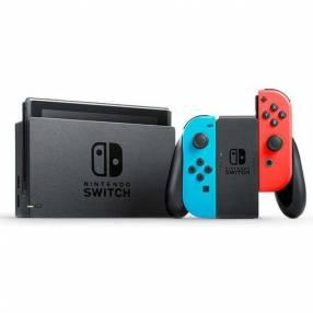 Consola Nintendo Switch azul neón roja 32 gb