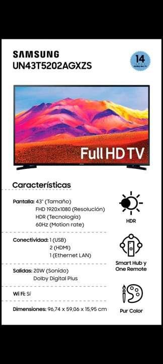 Smart TV Samsung 43 pulgadas FHD 2020 - 0