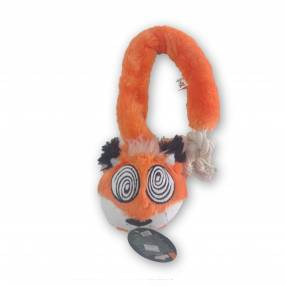 Peluche raposa ojo espiral