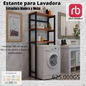 Estante para lavadora