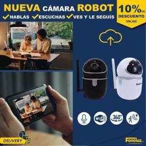 Cámara robot con inteligencia artificial