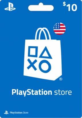 PlayStation Digital Cash región EEUU
