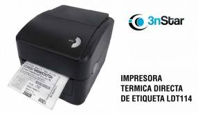 """Impresora térmica de etiqueta 4"""" 3NSTAR LDT114"""