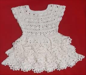 Vestidito para niña de 3 a 6 meses