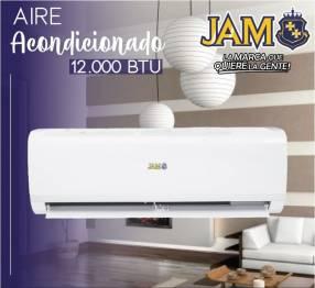 Aire acondicionado Jam 12.000 btu split con instalación