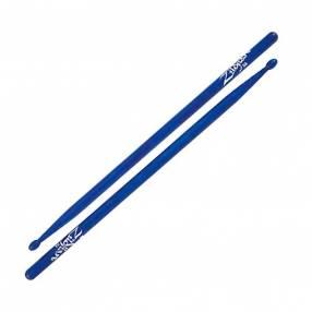 Baqueta de madera azul Zildjian punta de madera 5AWBU