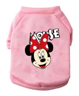 Mickey hoddies raza pequeña rosa