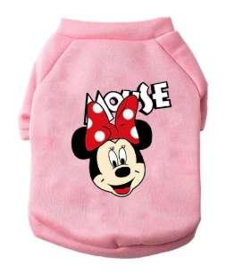 Mickey hoddies raza pequeña rosa - 0