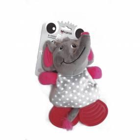 Elefante mordedor de goma