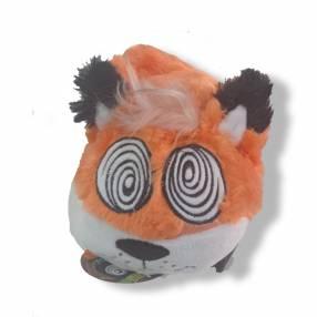 Cuerda de peluche raposa ojo espiral