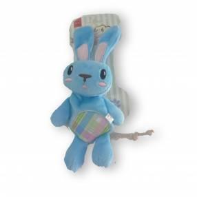 Conejo de peluche c/ cuerda