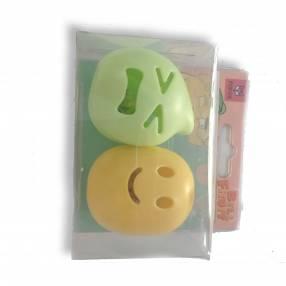 Juguete frutos c/ campana verde amarillo