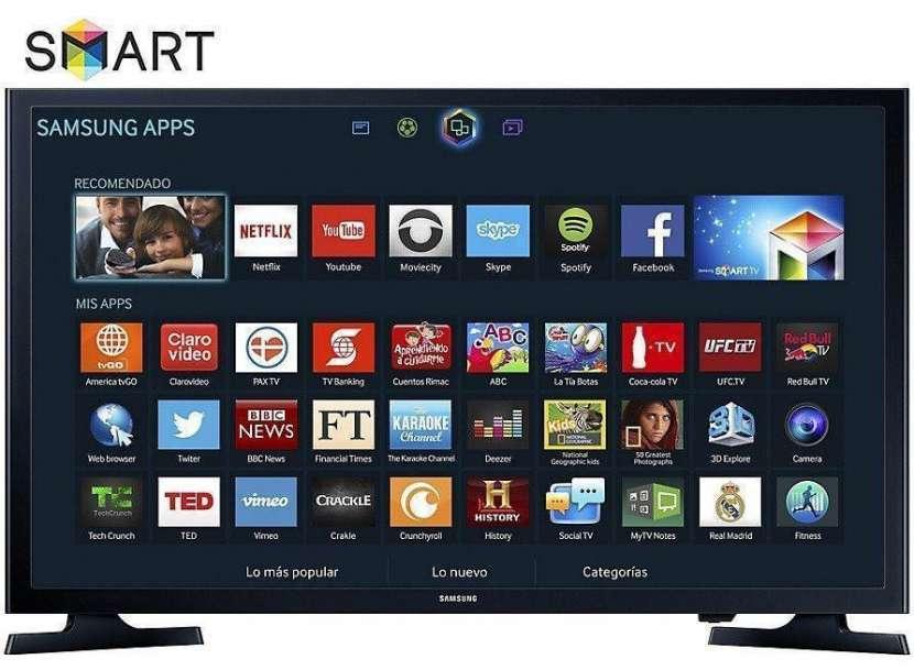 Smart tv flat hd Samsung 32 pulgadas - 5