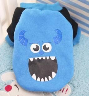Monster hoddies raza pequeña blue