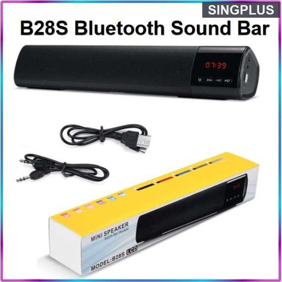 Mini speaker b28s lcd - 0