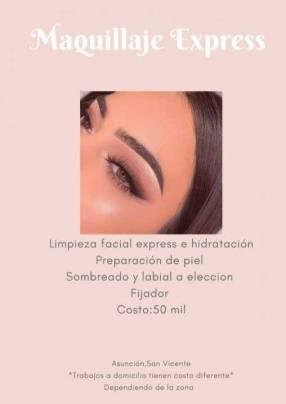 Maquillaje express y social