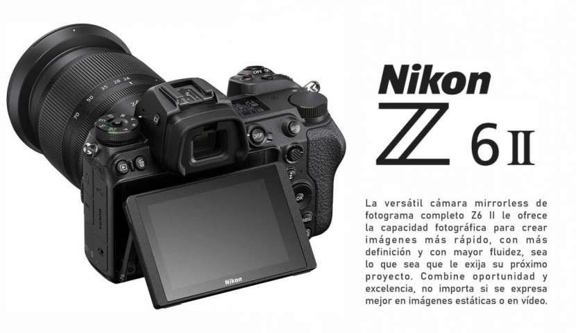 Cámara Nikon Z6 II Kit 24-70mm - 0