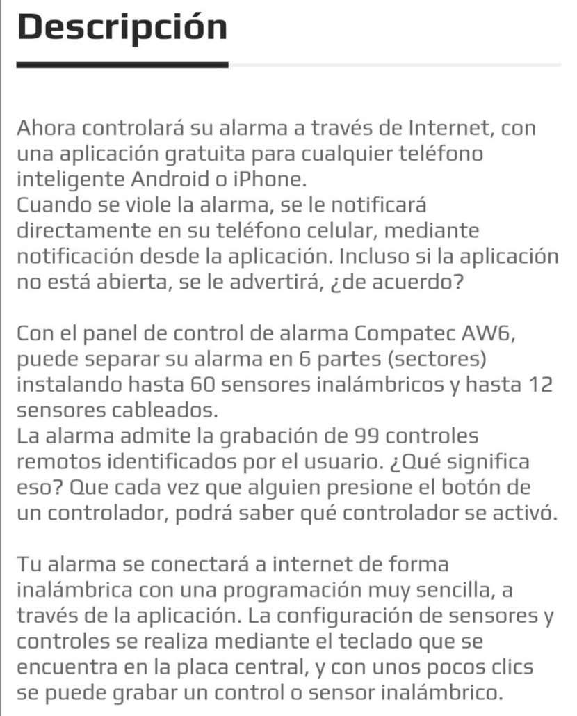 Sistema de alarma con App - 1